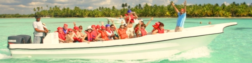 Saona-excursion-speedboat